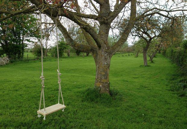 Качели для дерева своими руками