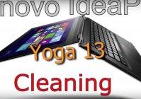 Lenovo Yoga13  - разборка и очистка