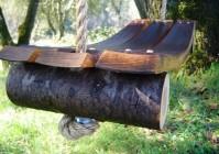 Садовые качели или качели для дачи своими руками