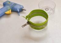 Контейнер для мелочей из пластиковой бутылки