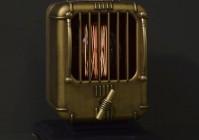 Стимпанк светильник из старой радиоточки