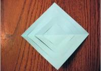 Объемная снежинка из бумаги на новый год своими руками