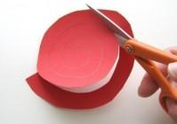 Как сделать бумажную розу своими руками