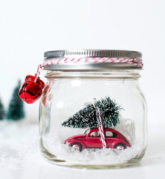 Как сделать красивую поделку новогоднюю фото 694
