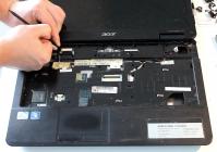Acer Aspire 5735 разборка и очистка