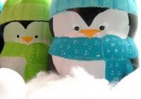 Веселые новогодние пингвины своими руками