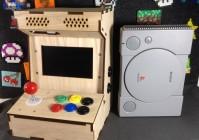 Маленький аркадный игровой автомат своими руками