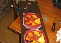 Самодельный корпус компьютера с новой схемой охлаждения