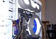 Воздуховоды для видеокарты и процессора