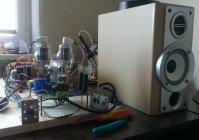 Двухтактный ламповый усилитель на RCA 807 \ 6SL7 GT