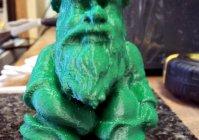 Модель фигурки гнома - для 3D принтера
