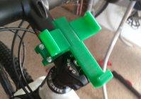 Держатель для телефона на велосипед на 3D принтере