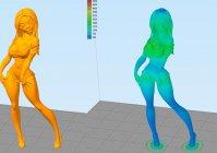 Девушка 3D модель