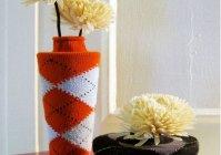 Украшаем цветочные горшки и вазы своими руками