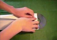 Мастерим конверт для cd диска из бумаги a4