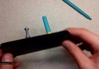 Простая подставка для телефона из присосок своими руками