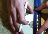 Делаем сюрикен из компакт-диска своими руками