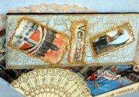 "Визитница: ""Венеция - город влюблённых"" / Business Card Holder: Venice - city of lovers"