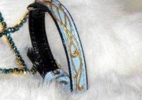 "Ошейник для собак: ""Мелодия ветра"" / Collar for dogs: The melody of the wind"