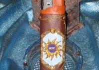 Зажигалка с логотипом МОЭСК / Lighter with logo MOESK
