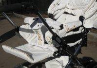 "Роспись детской коляски: ""Карета для принцессы"" / Hand painted children's carriage: ""Carriage for the Princess"""
