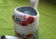 """Лейка: """"Русское поле"""" / Watering can for flowers: """"Russian field"""""""