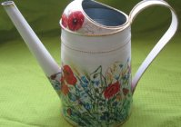 "Лейка: ""Русское поле"" / Watering can for flowers: ""Russian field"""