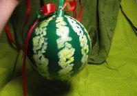 """Ёлочный шар: """"Арбуз"""" / Christmas ball: Watermelon"""