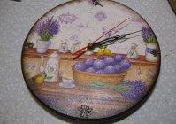 """Настенные часы """"Прованс"""" / Clock """"Provence"""""""