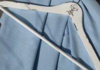Вешалка для одежды именная / Clothes hanger inscribed with the initials