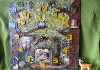 "Часы-панно ""Сказочное чаепитие"" / Watch-panel ""Fairy tale tea party"""