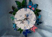 "Часы ""Феечка с бабочками"" / Watch ""Fairy with butterflies"""