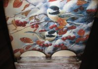 "Чайный комод ""Зимняя ягода"" / Commodus for tea bags ""Winter berry"""