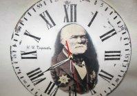 "Часы ""Н.И. Пирогов"" подарок хирургу / Clock ""Nikolay Ivanovich Pirogov"" gift for surgeon"