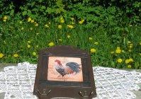 "Кухонный набор в стиле кантри ""Петух"" / Kit for kitchen  in country style ""Rooster"""