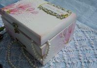 "Шкатулка для украшений ""Нежность"" / Box for storing jewelry  ""Tenderness"""