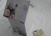 "Чайный домик ""Розы шебби"" / House for tea bags ""Shabby Roses"""