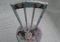 "Стульчик ""Розы шебби"" / Chair ""Shabby Roses"""