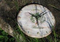 """Часы """"Ароматные травы"""" / Clock """" Fragrant herbs"""""""