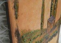 """Комплект """"Тоскана Италия"""" (часы и 2 панно) /  Set """"Tuscany Italy"""" (Clock and 2 panels )"""