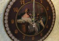 Часы Дама с собачкой / Clock
