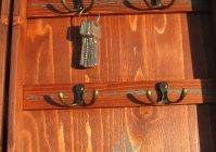 "Ключница с полочкой - Парусник /Box for storage key  with shelf ""Sailboat"