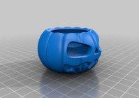 3D модель Тыквы для хэллоуина