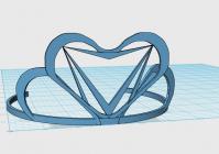 Корона для девочек - 3D модель