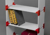 Крепежи для сборки модульной мебели - модель для 3D принтера