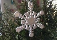 Снежинки - модель для 3D принтера