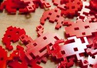 Елочные игрушки Space Invaders - 3D модель