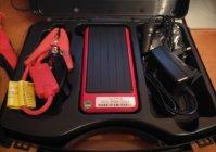 Заводим машину пуско-зарядным устройством D-lex power (внешний стартер)