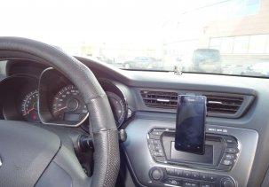 Автомобильный крепеж для мобильника  Steelie Nite Ize