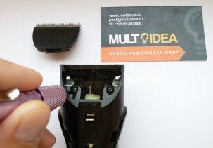 Замена аккумулятора в машинке для стрижки Panasonic ER206